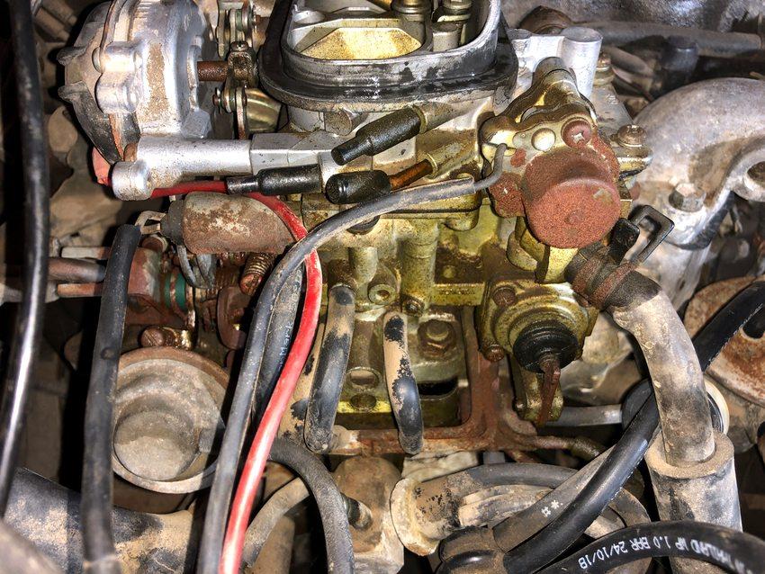 Toyota 22r Carburetor Disassembly Rebuild